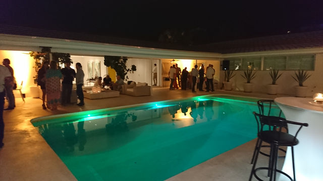 Miami Networking by the pool.JPG