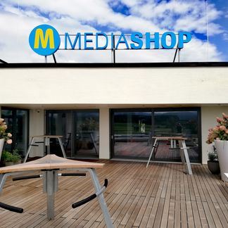 MediaShop rooftop terrace at new HQ